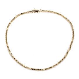 Royal Bali Collection - 9K Yellow Gold Spiga Bracelet (Size 7)