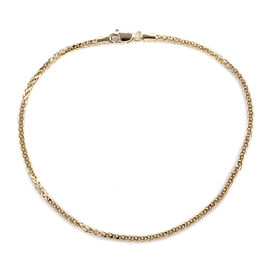 Royal Bali Collection - 9K Yellow Gold Spiga Bracelet (Size 8)
