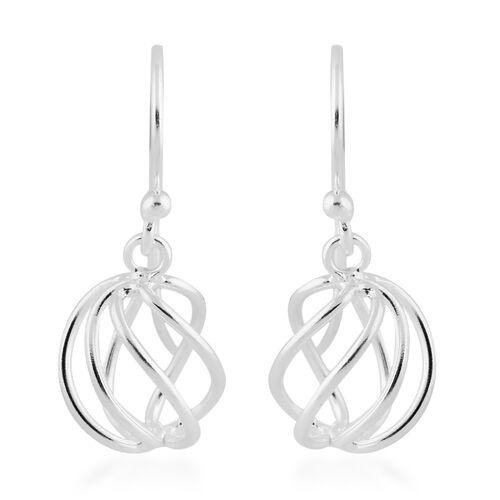 Sterling Silver Drop Hook Earrings