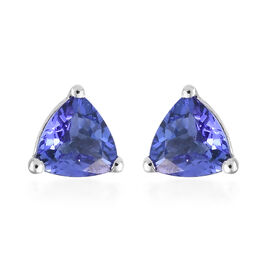 ILIANA AAA Tanzanite (0.75 Ct) 18K W Gold Earring  0.750  Ct.