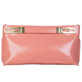 Bulaggi Collection - Polly Clutch Bag with Adjustable Shoulder Strap  in Peach (Size 17x32x4Cm)