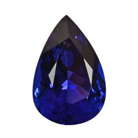 AAAA Tanzanite Pear 16.94x11.54x7.58 Faceted 8.76 Ct.