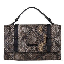 Bulaggi Collection - Snake Crossbody Bag (Size 23x16x05 Cm)