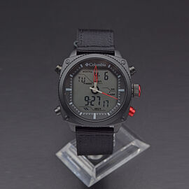 Columbia Ridge Runner Analog-Digital Black Nylon Watch