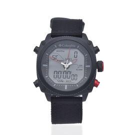Columbia Ridge Runner Analog-Digital Black Nylon Watch