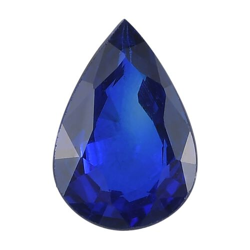 AAA Blue Spinel Pear 7x5 Faceted 0.50 Cts