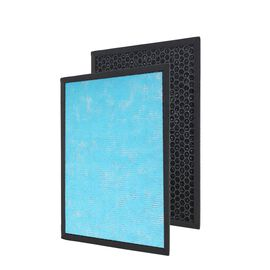 Activated Carbon Replacement Filter (Size 36x26x2.2 Cm) - Black