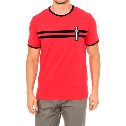Karl Lagerfeld - Mens Surf T-Shirt Short Sleeve (Size S) - Red