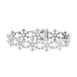 Designer Inspired- Starburst Diamond Bracelet (Size 7.5)
