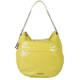 Bulaggi Collection - Nikkie - Patent Hobo Handbag with Adjustable and Removable Strap (24x33x12 cm)