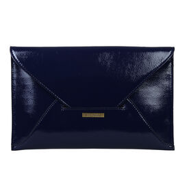 Bulaggi Collection - Isabella Envelope Clutch Bag in Navy (Size 30x19x01 Cm)