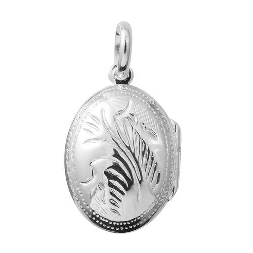Designer Inspired- Sterling Silver Locket Pendant