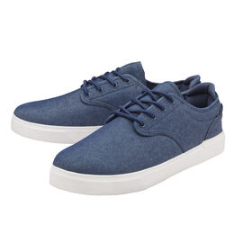 Gola Panama Lace Wide Fit Trainer in Navy and White Colour