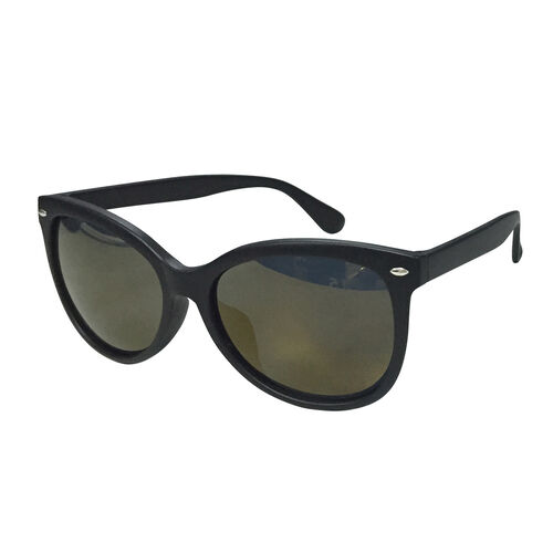 Eyecatcher Black Frame with Tinted Lens Sunglasses