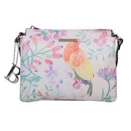 Bulaggi Collection - Bird Crossbody Bag (Size 22x18x05 Cm) - Multi