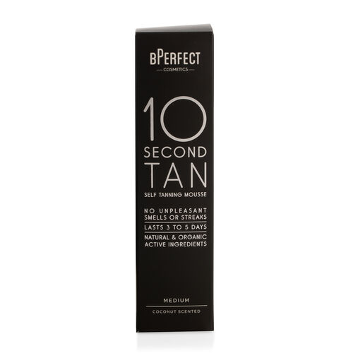 BPerfect 10 Second Self Tanning Mousse Medium Coconut With Free Mitt