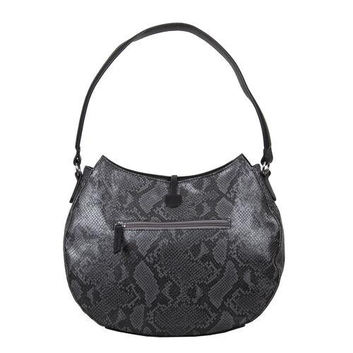 Bulaggi Collection - Quince Hobo Shoulder Bag (Size 27x35x11cm) - Black
