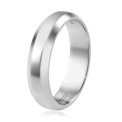 RHAPSODY 950 Platinum Band Ring, Platinum wt 5.60 Gms