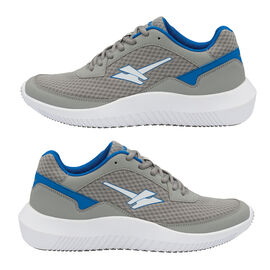 Gola Wexford Lace Up Trainer in Grey and Blue Colour