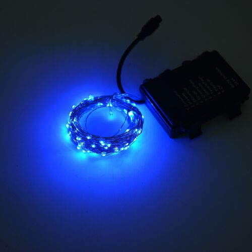 Set of 3 - 3 Metre Long Micro LED String Light with Wireless Handlheld Remote Control