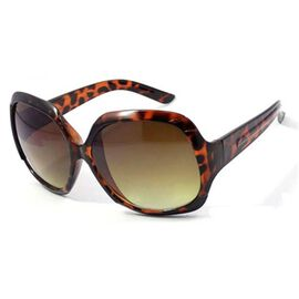 New For Season- Oval Sunglasses Colour Brown