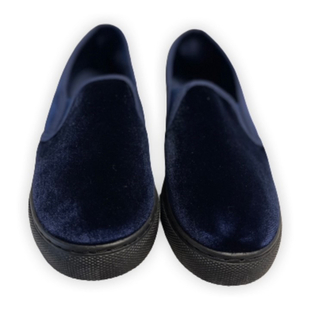 Navy Slip On Womens Shoes (Size 3)