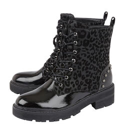 Lotus ELENA Animal Print Ankle Boots