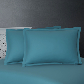 SERENITY NIGHT Set of 2 - 100% Bamboo Oxford Pillow Case - Lavender
