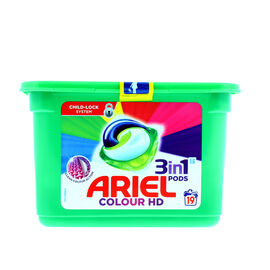Ariel 3-in-1 Pods Colour - 19s