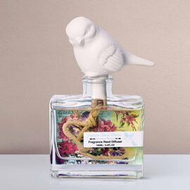 Decorative Scented Reed Bird Diffuser (100 ML) - Japanese Cherry Blossom Fragrance