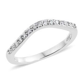 RHAPSODY 950 Platinum IGI Certified Diamond (Rnd) (VS/E-F) Ring 0.170 Ct