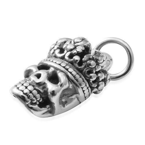 Sterling Silver Skull Pendant