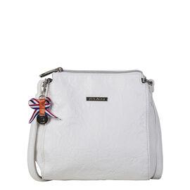 Bulaggi Collection - Sabrina Crossover Bag (Size 20x21x13 Cm) - White