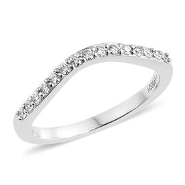 RHAPSODY 950 Platinum IGI Certified Diamond (Rnd) (VS/E-F) Ring 0.170 Ct