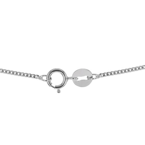 Close Out Deal RHAPSODY Diamond Cut Curb 18 Inch Chain in 950 Platinum 2.60 grams