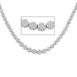 RHAPSODY 950 Platinum Diamond IGI Certified (Rnd) (VS/E-F) Necklace (Size 15 with 3 inch Extender) 5