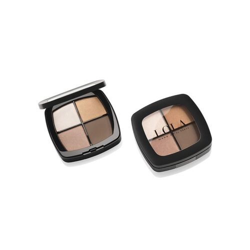 Lola: Eyeshadow Quad - Brown