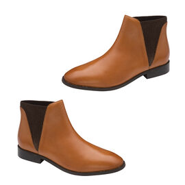 Ravel Sabalo Leather Ankle Boots Tan