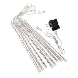 LED Icicle  Meteor Shower String Light (50 cm)t - White