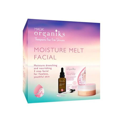 MAGIK ORGANIKS- Moisture Melt Box with Mask 30g, Cleansing Balm 100g. and Serum 50ml
