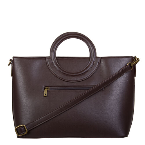 Bulaggi Collection- Briar Handbag (Size 33x24x15 Cm) - Dark Brown