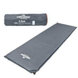 Self Inflating Mat in Charcoal (Size 200x63cm)