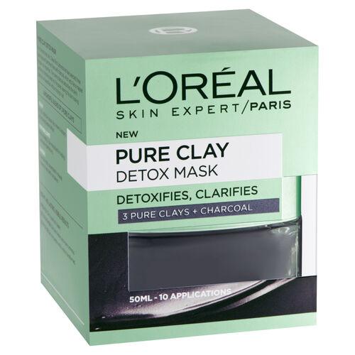LOreal: Pure Clay Detox Mask - 50ml