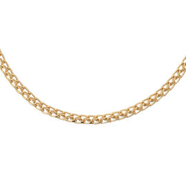 Diamond Cut Chain Necklace in 9K Gold 3.95 Grams 18 Inch