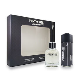 CHRISTMAS GIFT IDEA - Penthouse: Legendary EDT - 100ml & Body Spray - 150ml