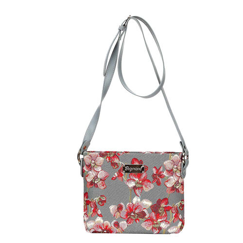 SIGNARE - Tapestry Collection - Orchid Cross Body Bag ( 28 x 18 x 8 Cms)