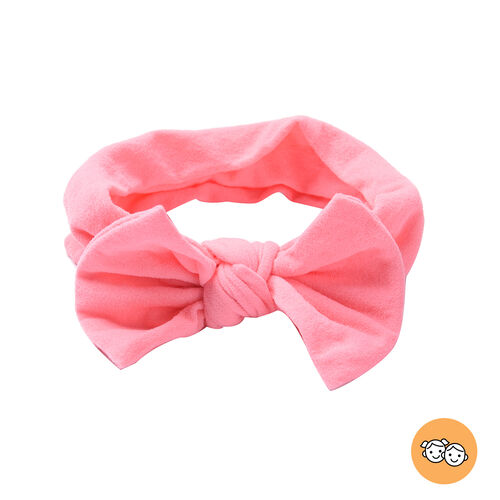 Knot Headband in Pink Colour (Size 15x9 Cm)