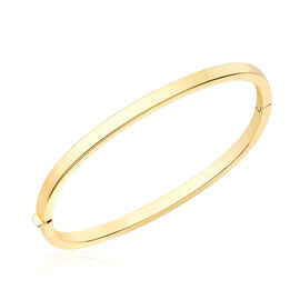 Italian Made Stacker Bangle in 9K Yellow Gold 6.80 Grams 7 Inch