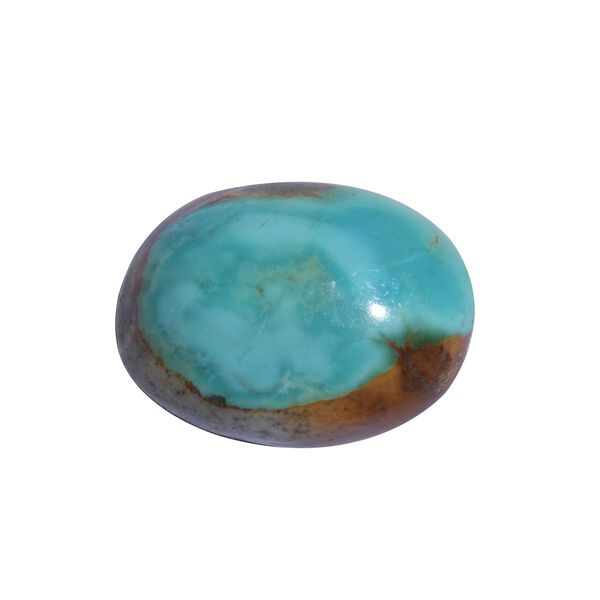 AAA Royston Turquoise Oval 20x15 Cabochon 13.30 Cts
