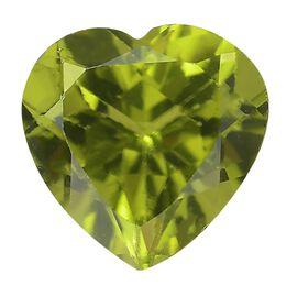 AA Peridot Heart 9.0mm 2.85 Ct
